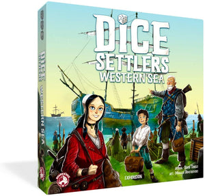 Dice Settlers Extension: Western Sea