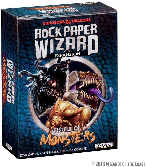 Dungeons & Dragons : Rock Paper Wizard : Fistful Of Monsters (En)