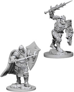 Dungeons & Dragons: Nolzur's Marvelous Unpainted Miniatures - Death Knight / Helmed Horror