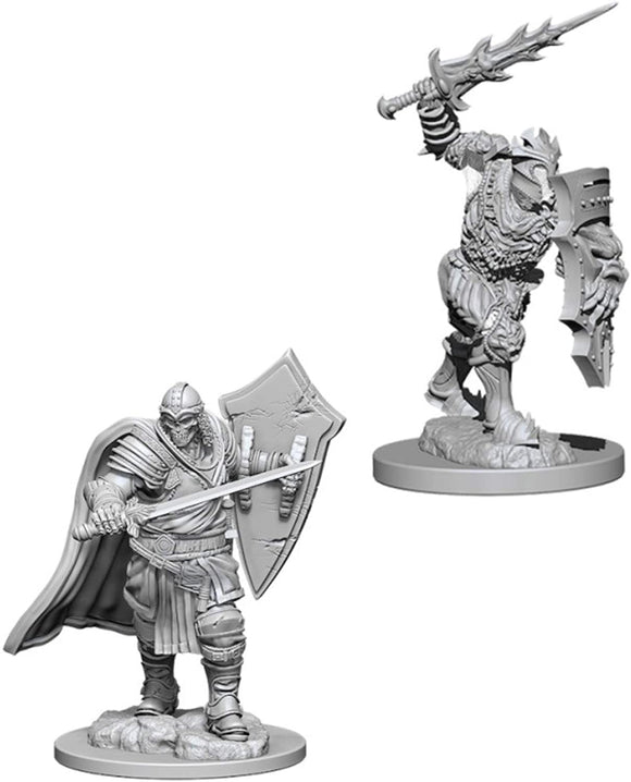 Dungeons & Dragons : Nolzur's Marvelous Unpainted Miniatures - Death Knight/Helmed Horror
