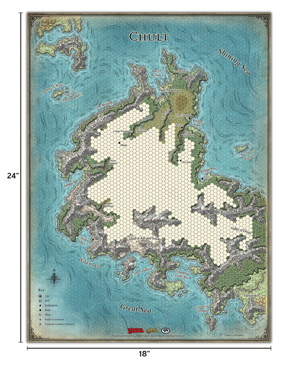 Dungeons & Dragons : Tomb Of Annihilation Map Set (En)