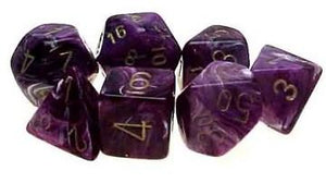 Vortex 7-Die Set Purple With Gold