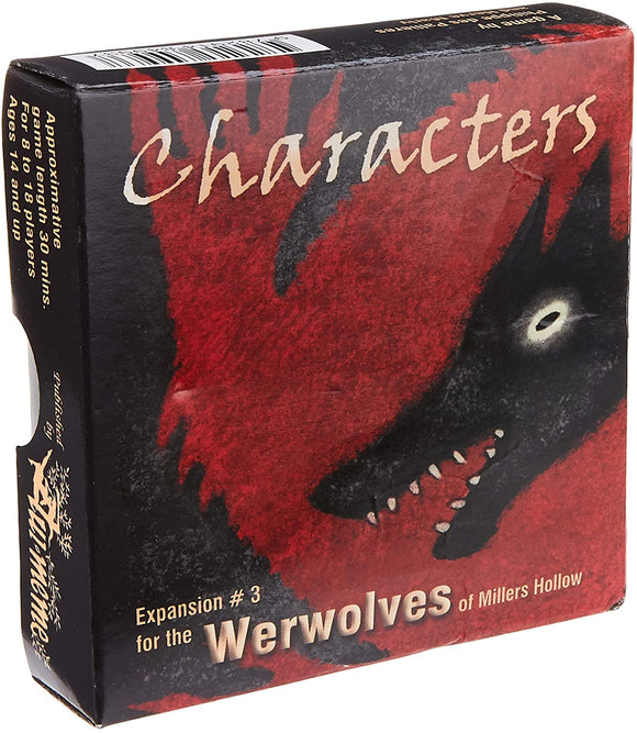 Werewolves Extension : Characters (En)