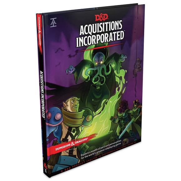 Dungeons & Dragons : Acquisitions Incorporated (En)
