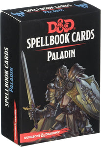 Dungeons & Dragons : Spellbook Cards - Paladin Deck