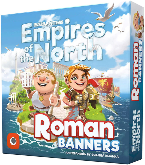 Imperial Settlers: Empires Of The North Extension - Roman Banners