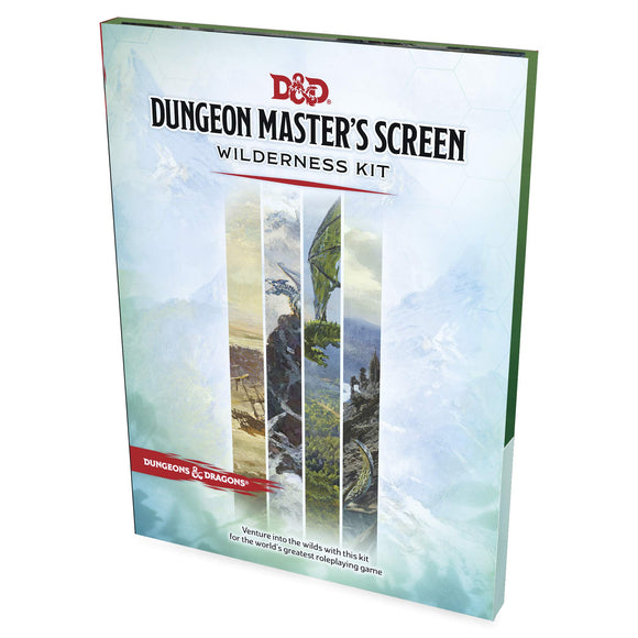 Dungeons & Dragons : Dungeon Master's Screen - Wilderness Kit (En)