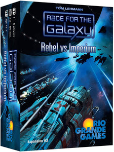 Race for the Galaxy Extension: Rebel Vs Imperium