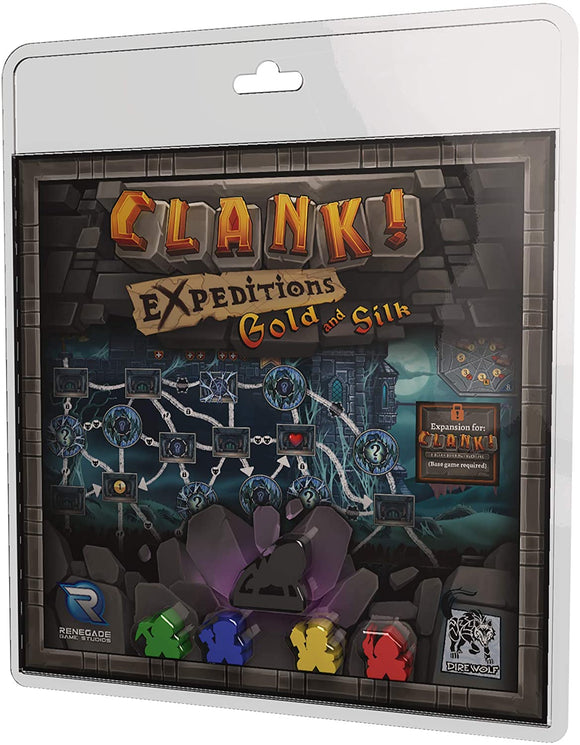 Clank! Extension : Expeditions - Gold And Silk (En)