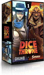 Dice Throne Season 2 : Battle #1 - Gunslinger VS Samurai