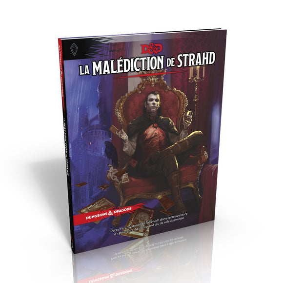 Donjons & Dragons 5e : La Malédiction De Strahd (Fr)