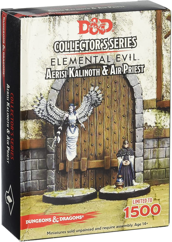 Dungeons & Dragons : Icons of the Realms - Elemental Evil - Aerisi & Air Priest