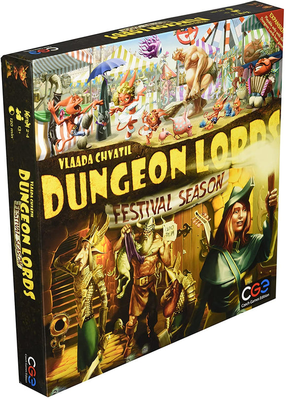 Dungeon Lords Extension : Festival Season (En)