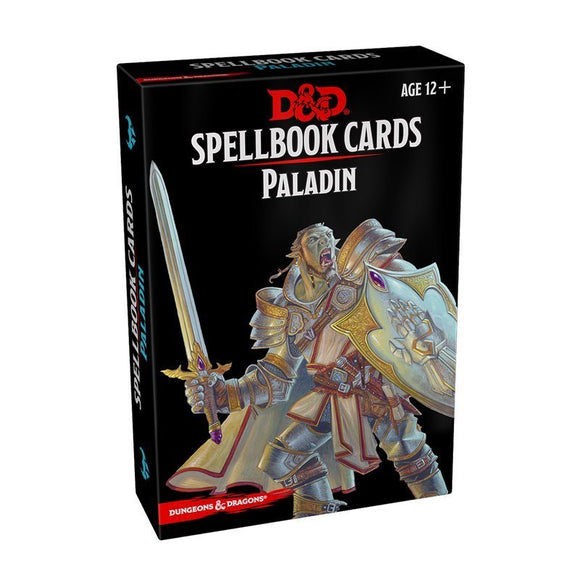 Donjons & Dragons 5e - Spellbook Cards : Paladin