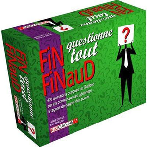 Fin Finaud: Question Everything (Fr)
