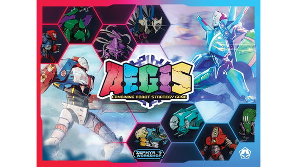 A.E.G.I.S. : Combining Robot Strategy Game