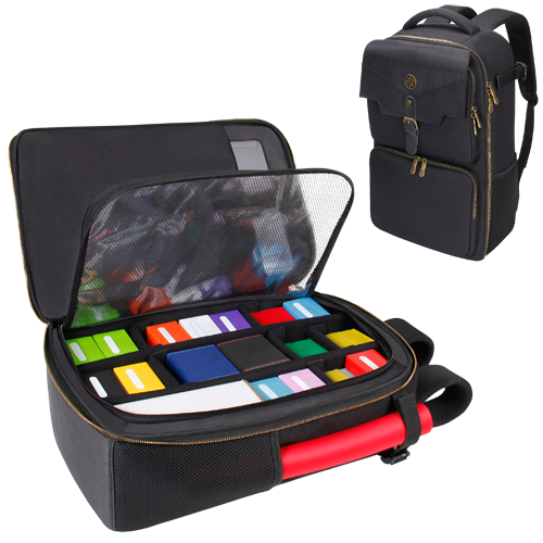 Accessory Power : Card Storage Backpack - Black