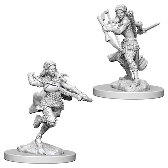 Dungeons & Dragons : Nolzur's Marvelous Unpainted Miniatures - Air Genasi Female Rogue