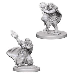 Dungeons & Dragons: Nolzur's Marvelous Unpainted Miniatures - Dwarf Female Wizard