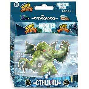King Of Tokyo / New-York: Cthulhu Monster Pack