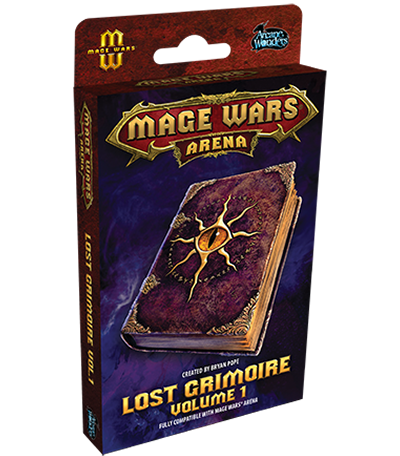 Mage Wars Arena Extension : Lost Grimoire Volume 1