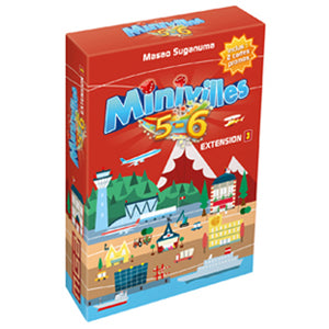 Minivilles Extension: 5 - 6 players