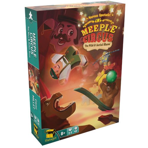 Meeple Circus Extension : Wild And Aerial Show