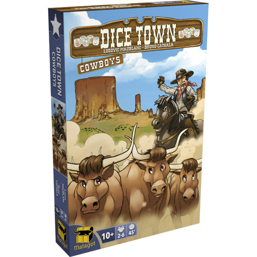Dice Town Extension : Cowboys (En)