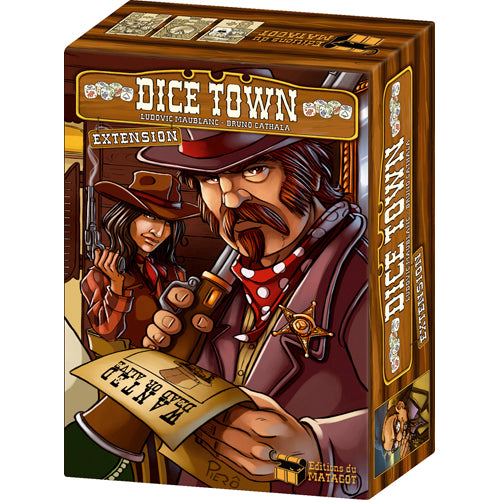 Dice Town Extension : Wild West (Fr)