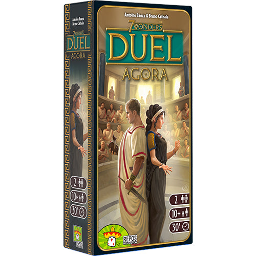 7 Wonders Duel Expansion : Agora (En)