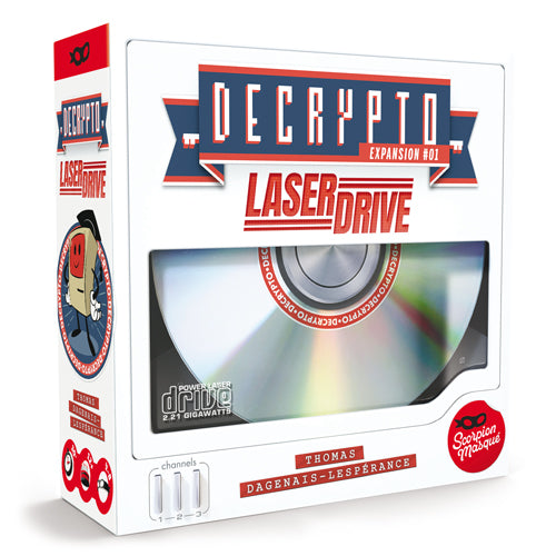 Decrypto Extension : Laser Drive (En)