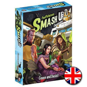 Smash Up Extension: Cease And Desist