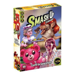 Smash Up Extension: Conflict Of Generations
