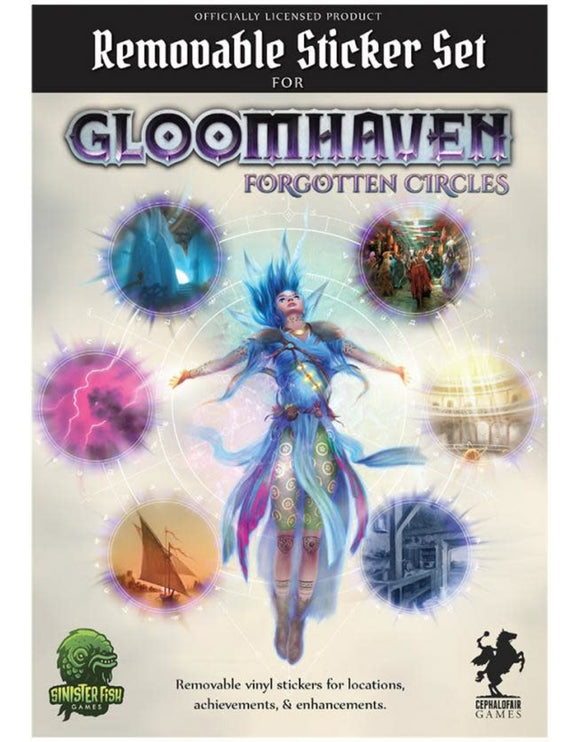 Gloomhaven : Removable Sticker Set - Forgotten Circles (En)
