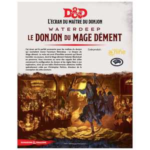 Dungeons & Dragons 5th: Dungeon Master Screen - The Mad Mage Dungeon (Fr)