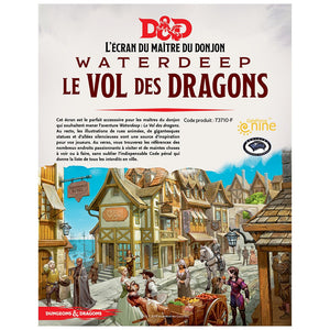 Dungeons & Dragons 5th: Dungeon Master Screen: Flight Of The Dragons (Fr)