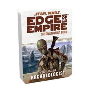 Star Wars: Edge Of The Empire - Archaeologist Specilization Deck (En)