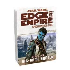 Star Wars: Edge Of The Empire - Big-Game Hunter Specialization Deck (En)