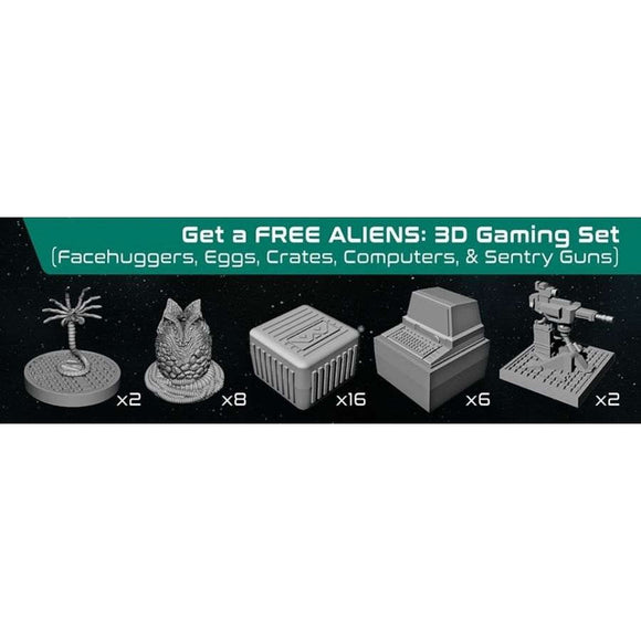 Aliens Extension : Assets And Hazards 3D Gaming Sets