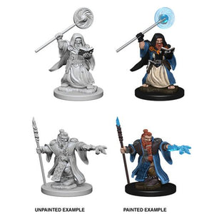 Dungeons & Dragons: Nolzur's Marvelous Unpainted Miniatures - Dwarf Male Wizard