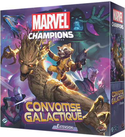 Marvel Champions Extension : Convoitise Galactique (Fr)