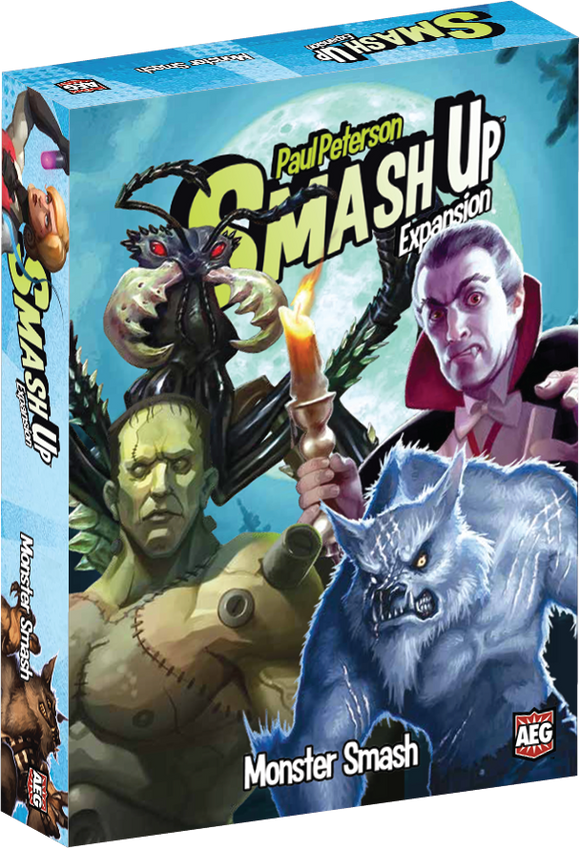 Smash Up Extension : Monster Smash (En)