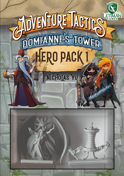 Adventure Tactics : Domianne's Tower - Hero Pack 1 (En)