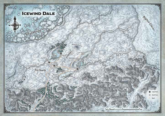 DND MAP SET ICEWIND DALE (30
