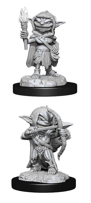 Pathfinder : Deep Cuts Unpainted Miniatures - Goblin Rogue Female