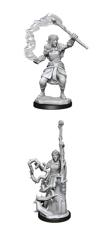 Dungeons & Dragons : Nolzur's Marvelous Unpainted Miniatures - Firbolg Druid Female