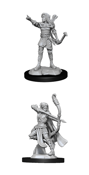 Dungeons & Dragons : Nolzur's Marvelous Unpainted Miniatures - Elf Ranger Female