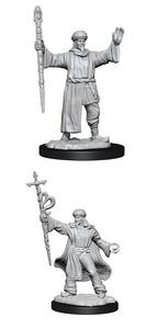Dungeons & Dragons: Nolzur's Marvelous Unpainted Miniatures - Human Wizard Male