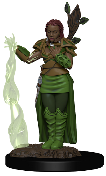 Dungeons & Dragons : Premium Figures - Female Human Druid