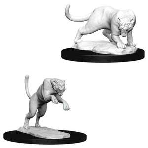 Dungeons & Dragons : Nolzur's Marvelous Unpainted Miniatures - Panther/Leopard